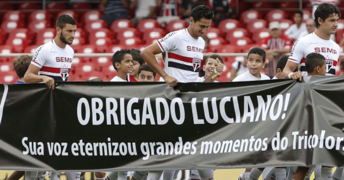 São Paulo, Cruzeiro e Atlético-PR vencem em dia de homenagens a Luciano do Valle