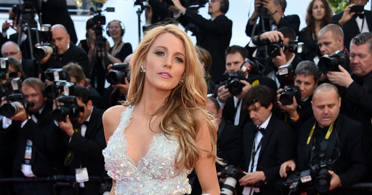 1e78d3aeca17 Blake Lively Rocks Chanel Illusion Dress At 2014 Cannes (PHOTOS ...