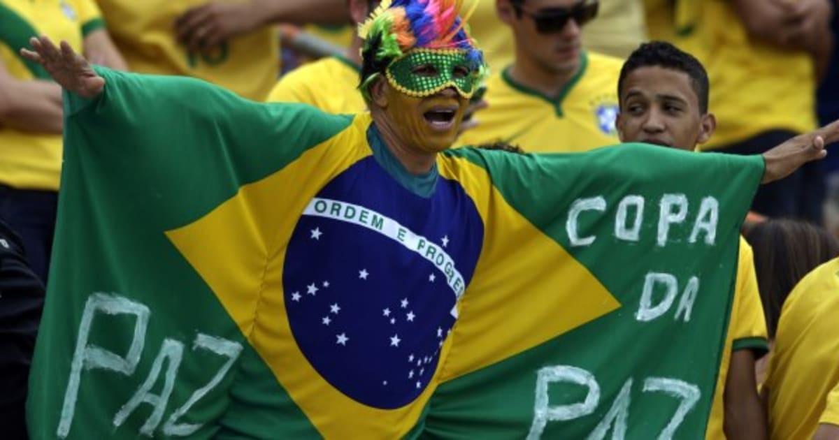 Todo mundo acha que o Brasil vai ganhar a Copa, menos Argentina e EUA, diz pesquisa