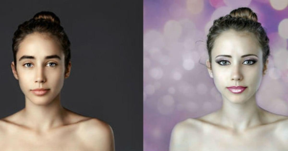 Isto é o que acontece quando uma mulher tem seu rosto editado em 25 países