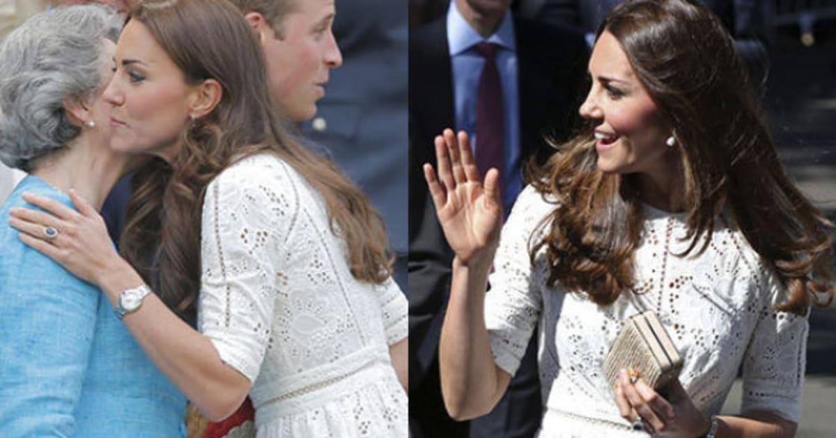 Kate ricicla l abito a Wimbledon 705b95a6ffc
