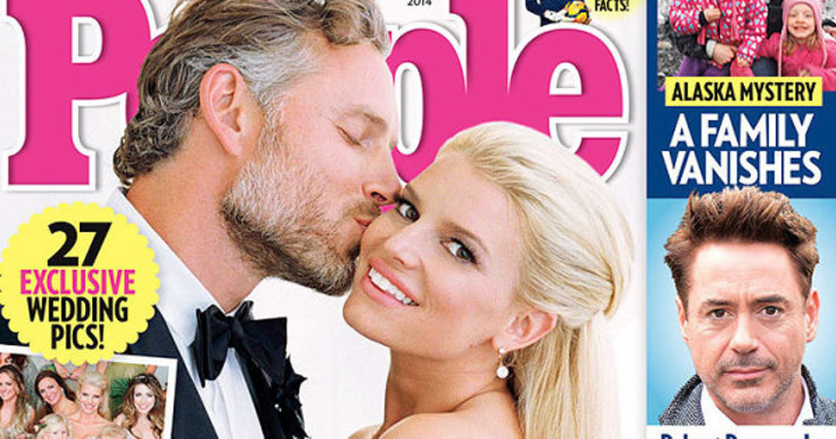 Jessica Simpson\'s Wedding Dress Is A Sparkle Lover\'s Dream