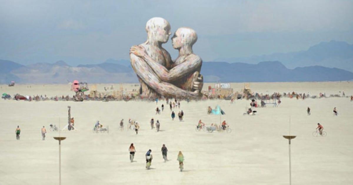 Exclusivo: a arte de outro mundo do Burning Man 2014