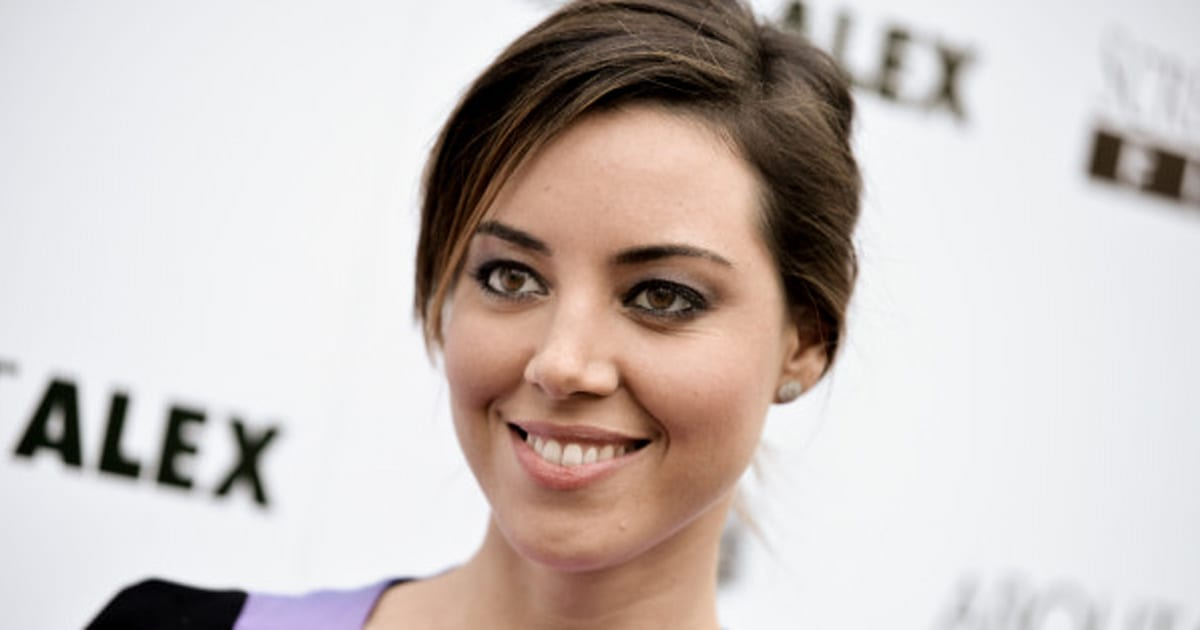 Aubrey Plaza Tiff 2014 Parks And Rec Star Gets Sexy On The Red
