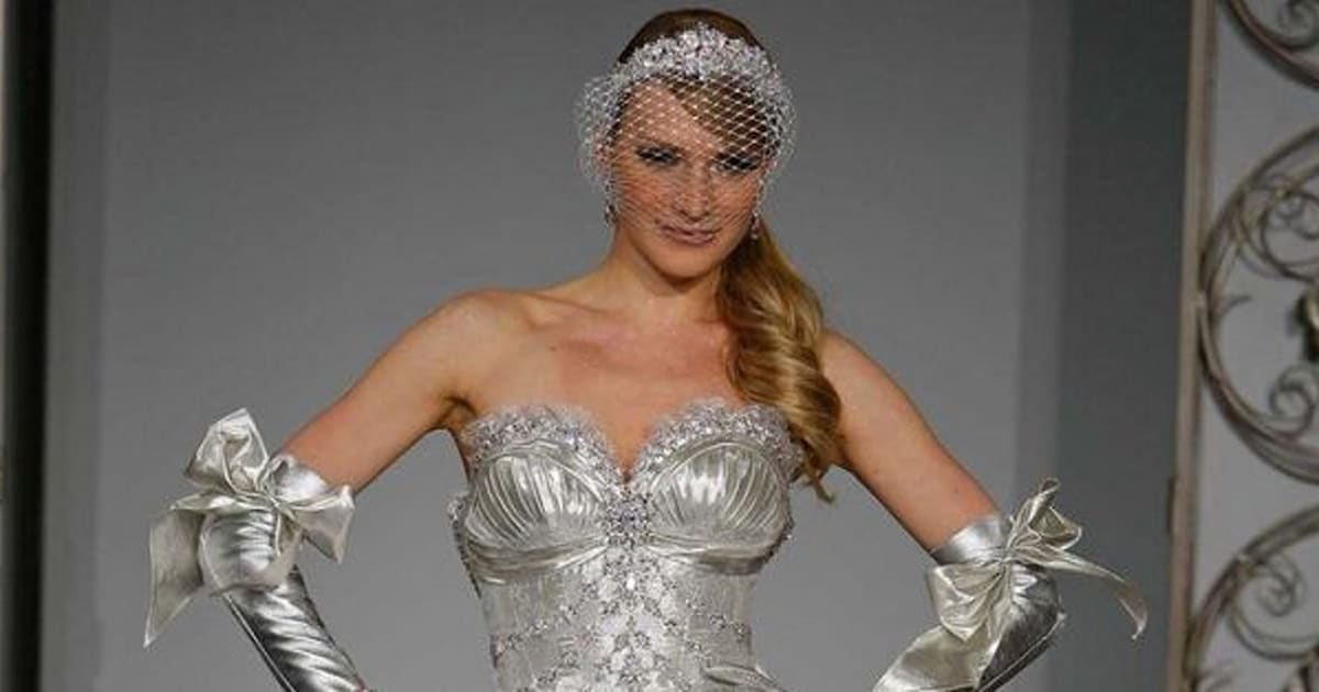 15 Of Pnina Tornai S Most Outrageous Wedding Dresses Ever Huffpost Canada