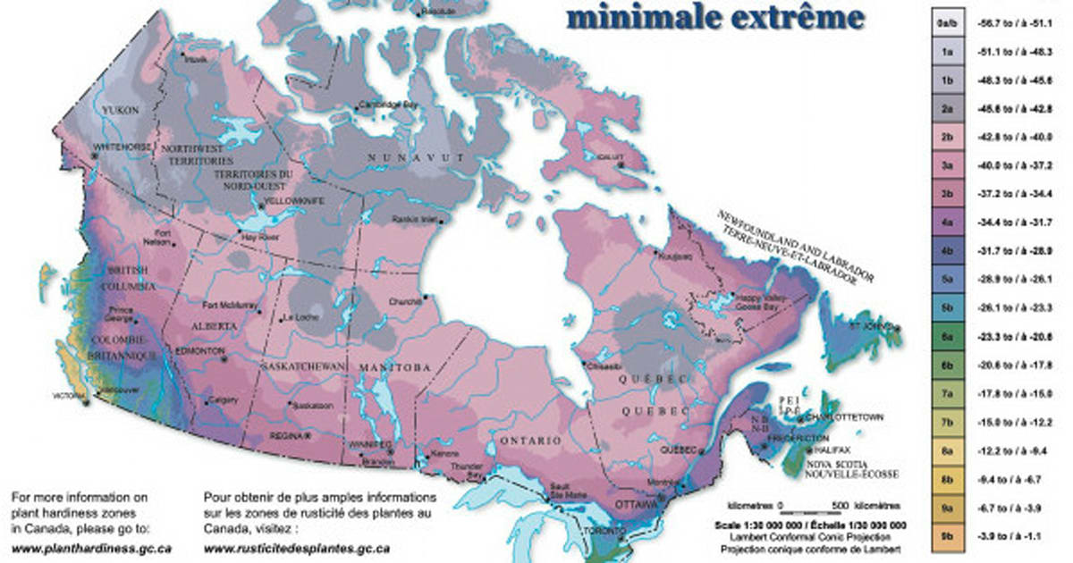 This Map Shows Why Almost Nobody Lives In Most Of Canada - Canada map