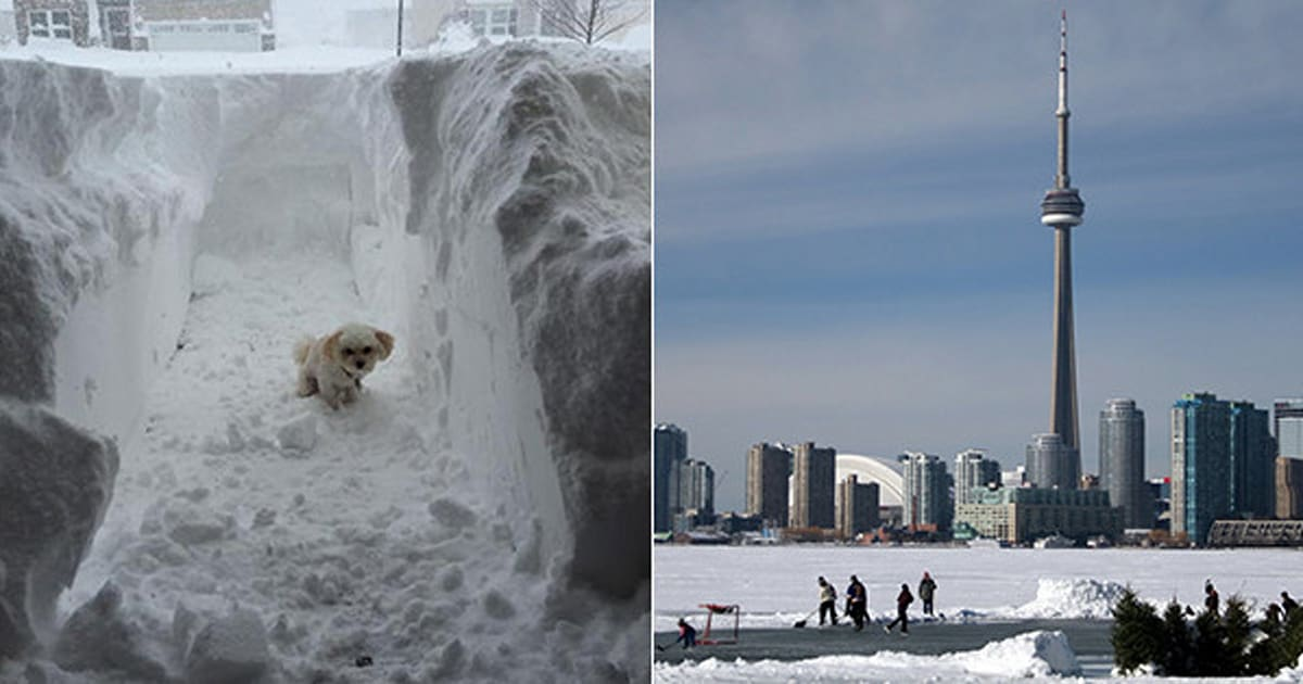 A Message To People Complaining About The Weather In Toronto