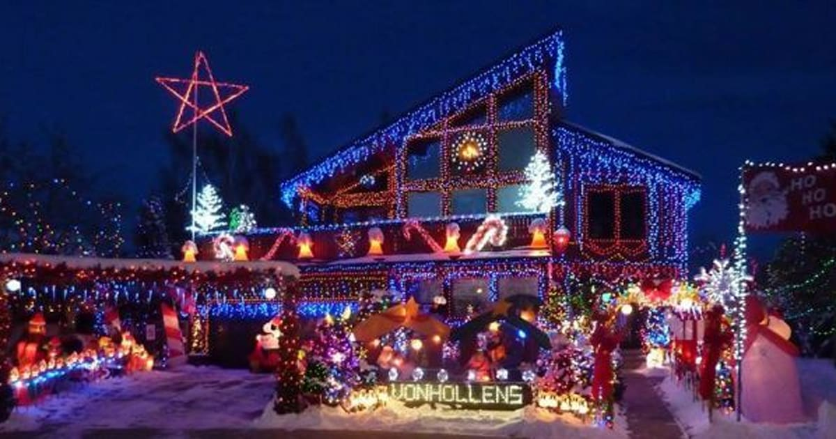 Rocky Mountain House Christmas Light Display To Shine For The Last ...