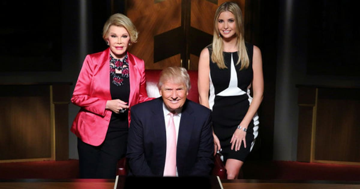 The celebrity apprentice usa 2019 joan rivers