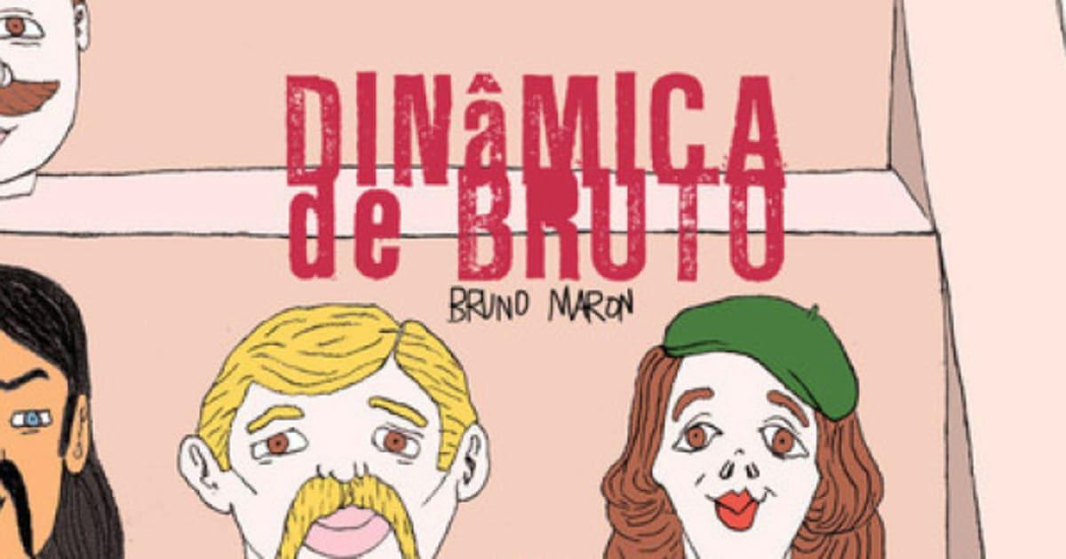 Com traço sujo e humor verborrágico, HQ Dinâmica de Bruto é lançada neste sábado