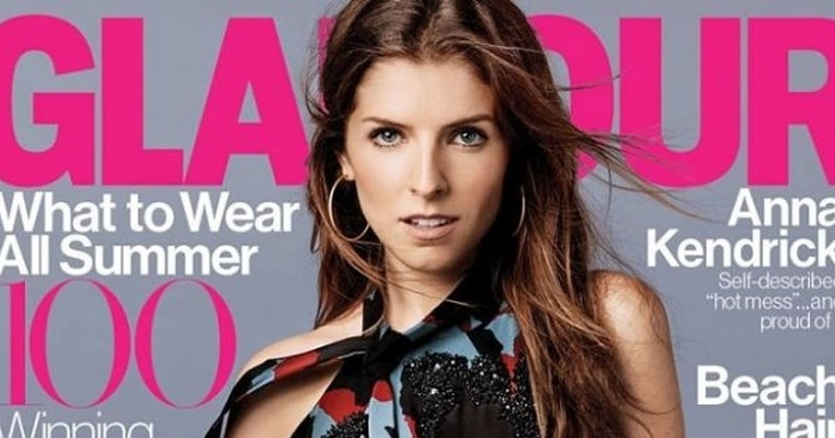 Anna Kendrick Smoulders On Cover Of Glamour Magazine