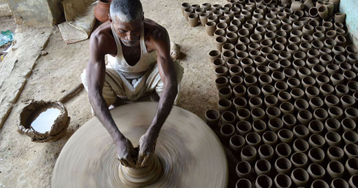 Pictures The Dying Art Of Pottery In Jewar Up Huffpost India