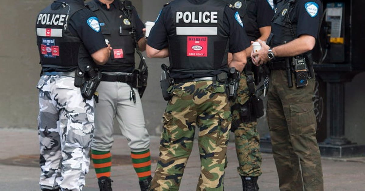 Montreal Officers Give New Meaning To The Term 'Fashion ...