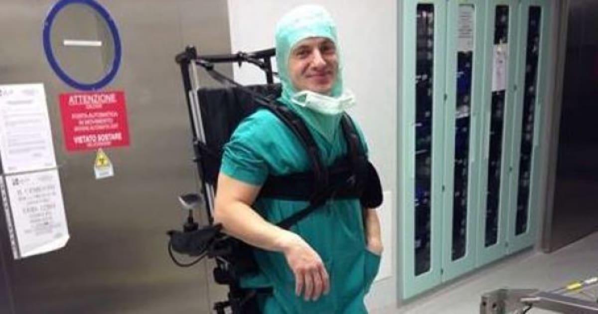 Sedie A Rotelle Torino : Marco dolfin chirurgo sulla sedia a rotelle: lincidente gli ha