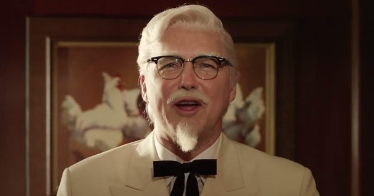 Kfc Commercial 2015 Creepy Colonel Sanders ...