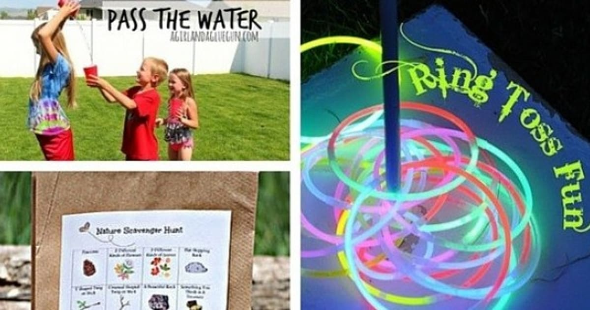 Camping Games For Kids 11 Fun Activities To Play This Summer