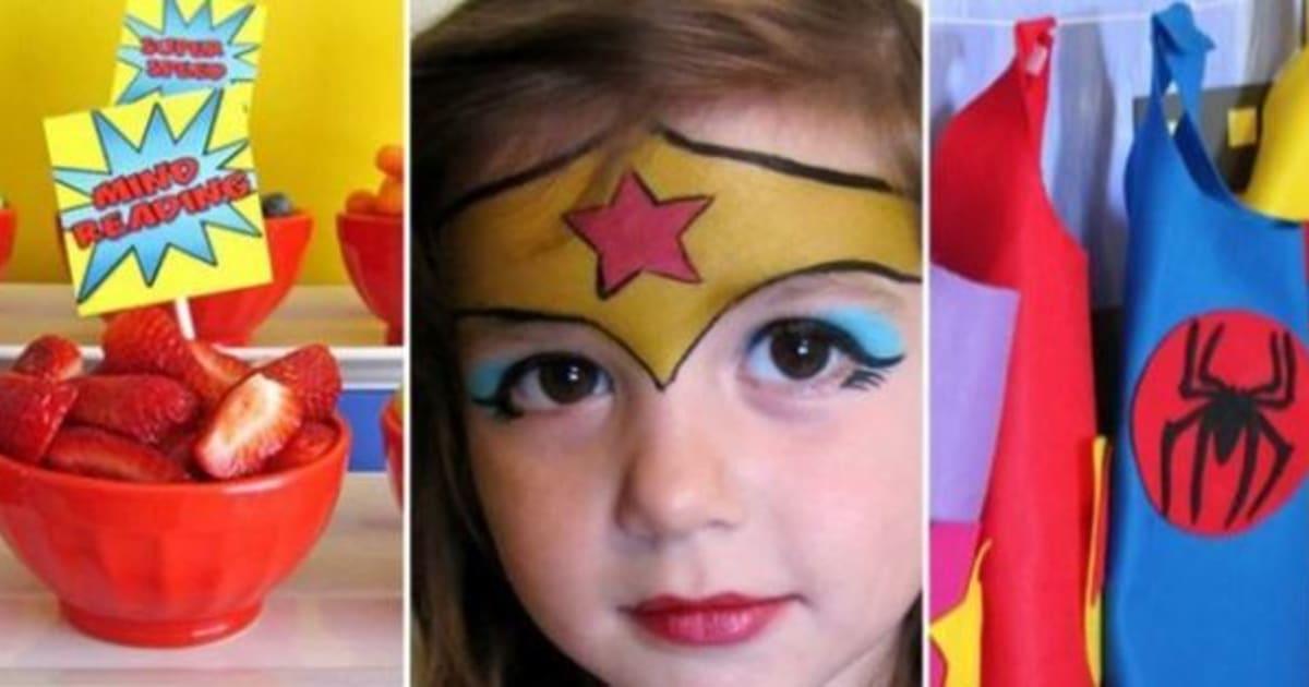Superhero Birthday Party DIY Ideas For A Marvel Ous Bash