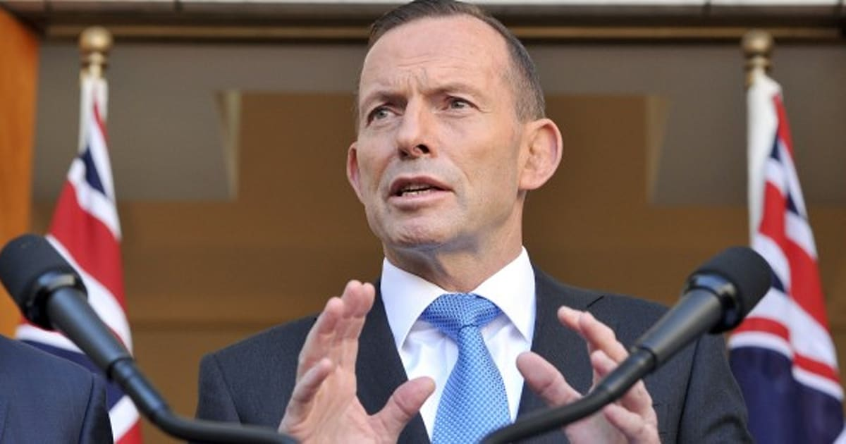 Dear Mr Abbott, It's Time To Stand Down As The Minister For Women