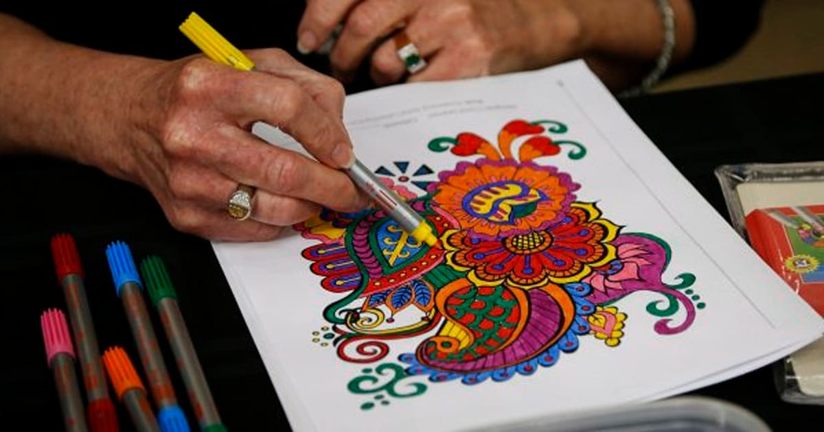 Adult Colouring Book Sales Surge In Canada