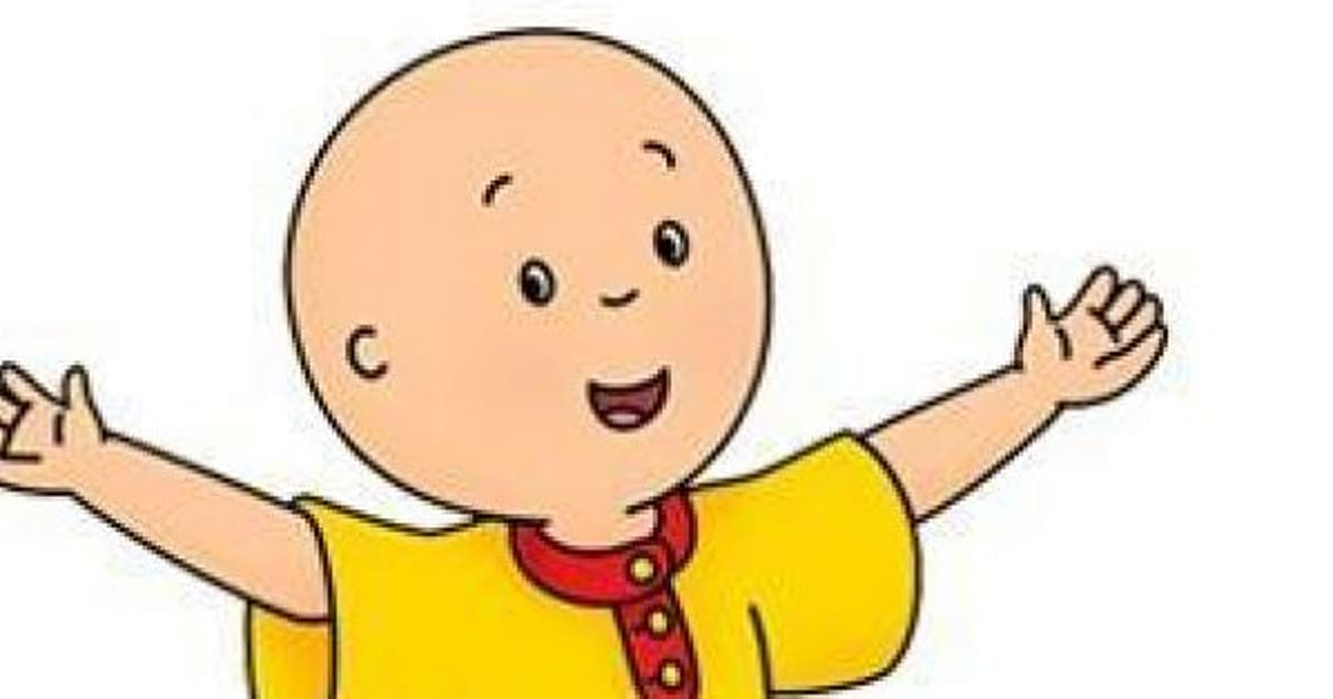 why is caillou bald huffpost canada