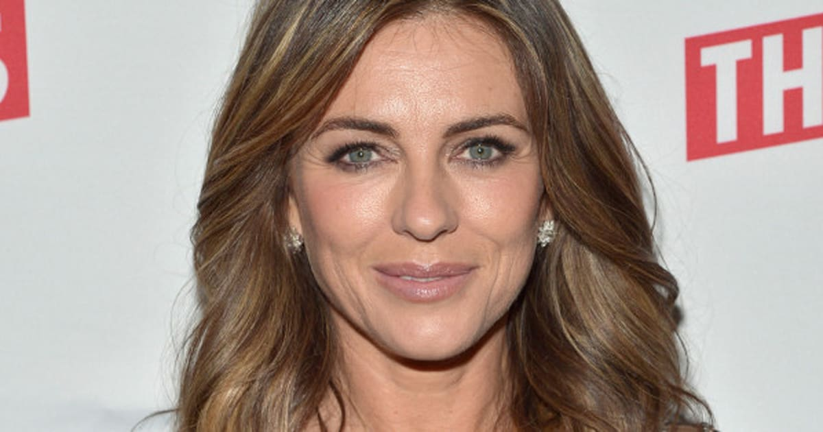Elizabeth Hurley Shares Sexy Christmas Card On Instagram
