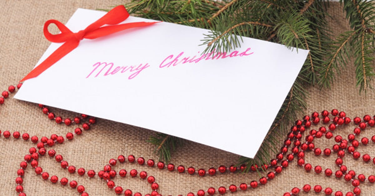 White Envelope Gift: For The Man Who Hated Christmas
