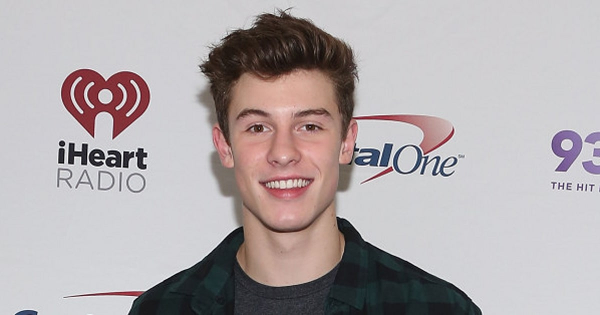 shawn mendes signed to wilhelmina models