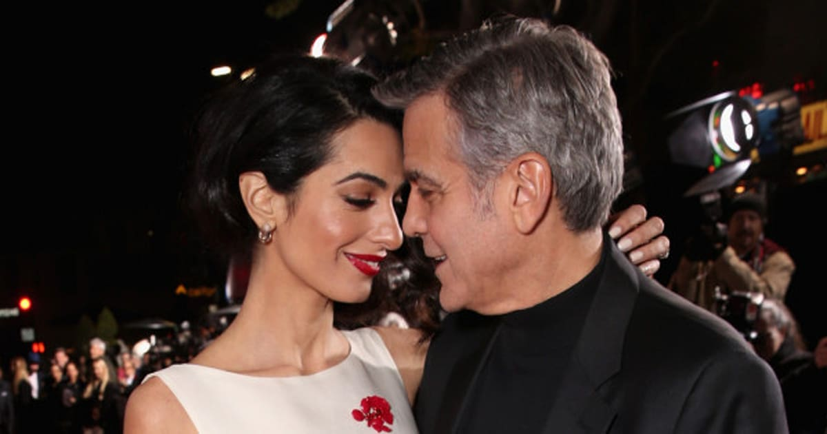 amal clooney steals the show on  u0026 39 hail  caesar  u0026 39  red carpet