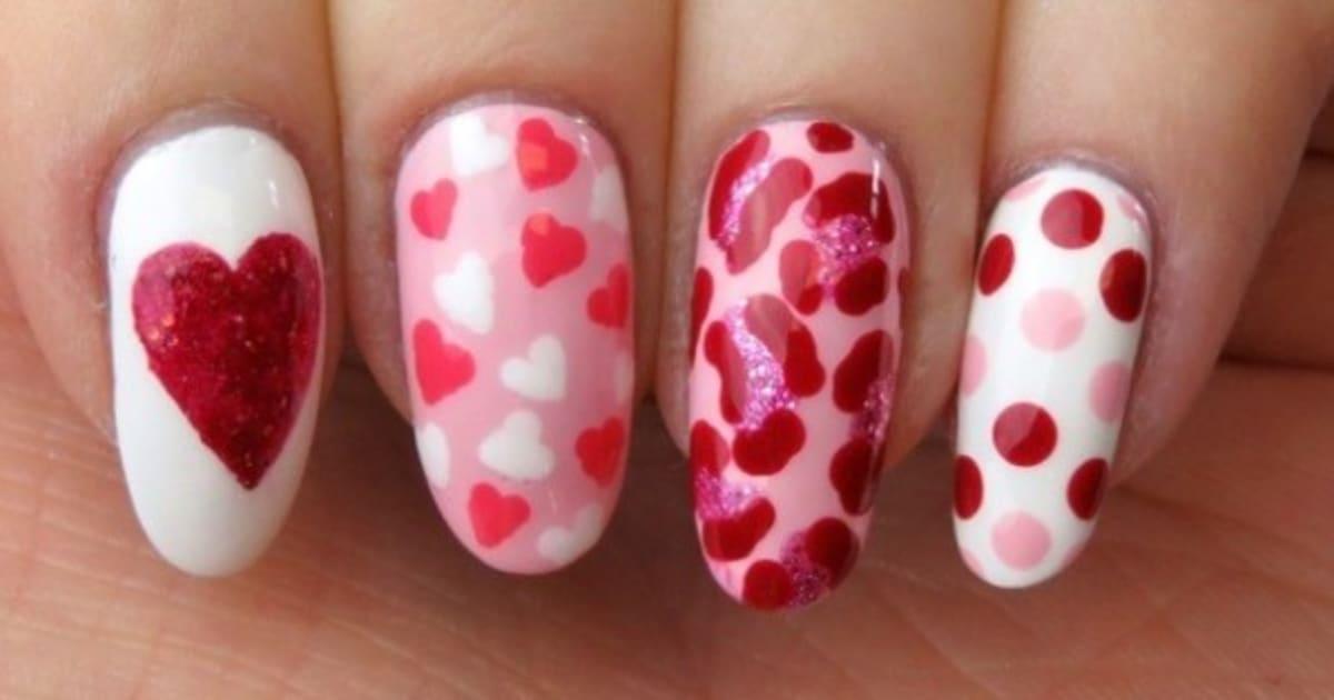 Valentine\'s Day Nail Art Ideas