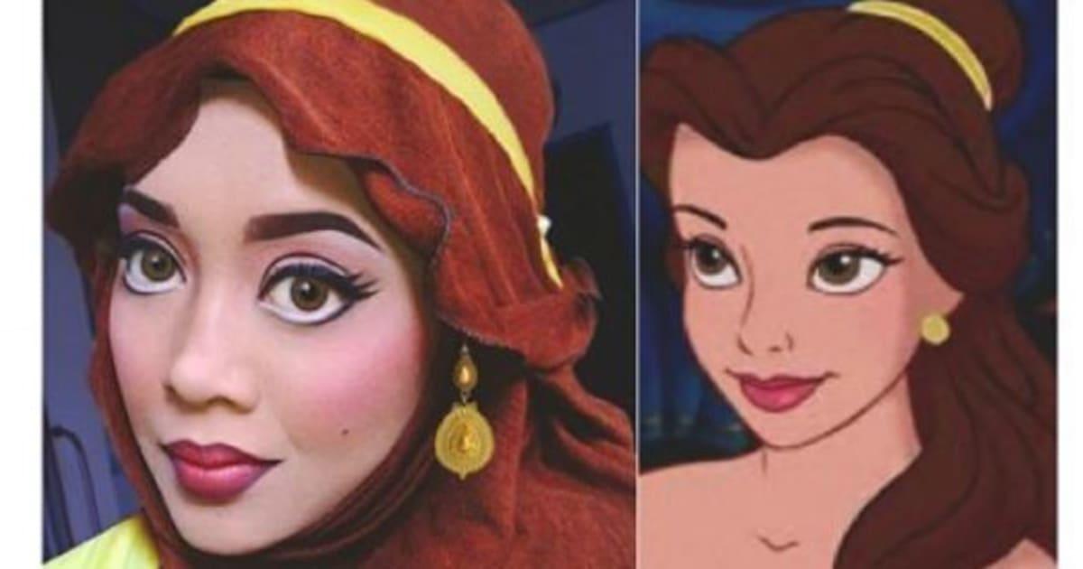 Photos Elle Se Transforme En Princesses Disney Avec Son Voile Le