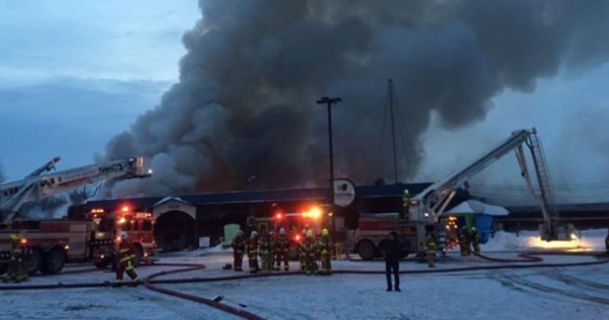 Le Centre Jardin Hamel Ravage Par Un Incendie Huffpost Quebec
