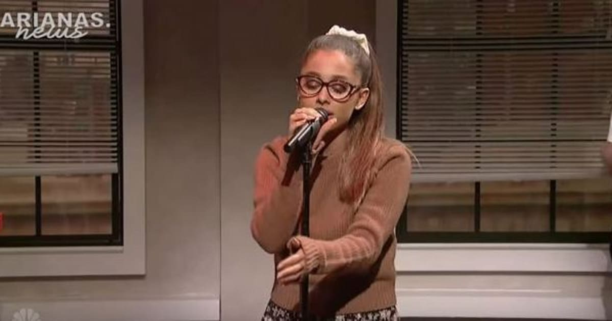 Ariana Grande Absolutely Nails Of These Impressions On SNL - Comedian absolutely nails celebrity impressions