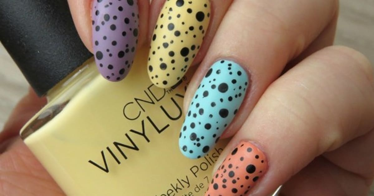 Nail Art: Try This Easy Pastel Easter Egg Design