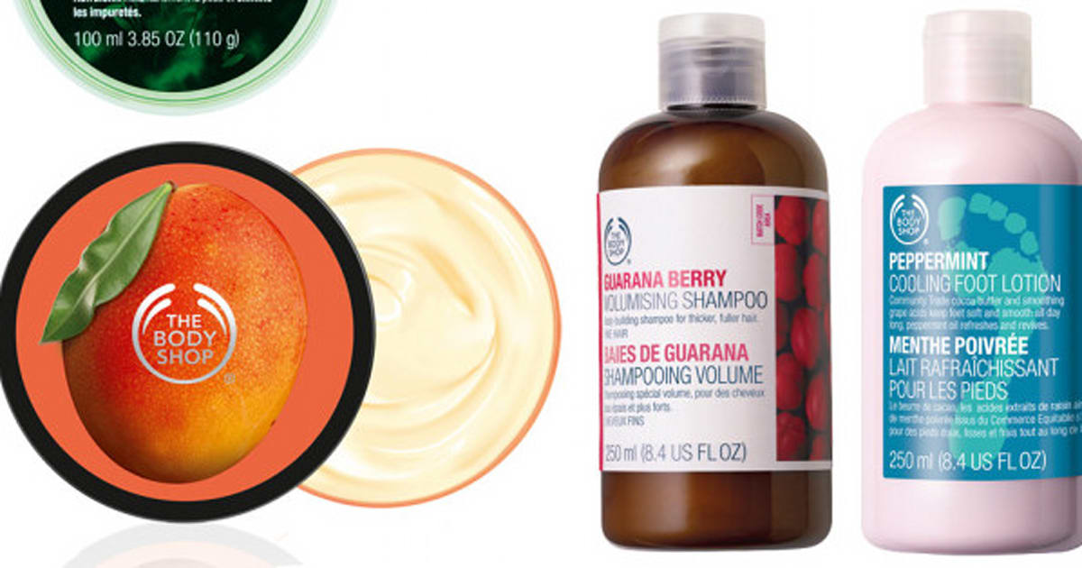The Body Shop Turns 40: Our Editors Share Their Fave Products