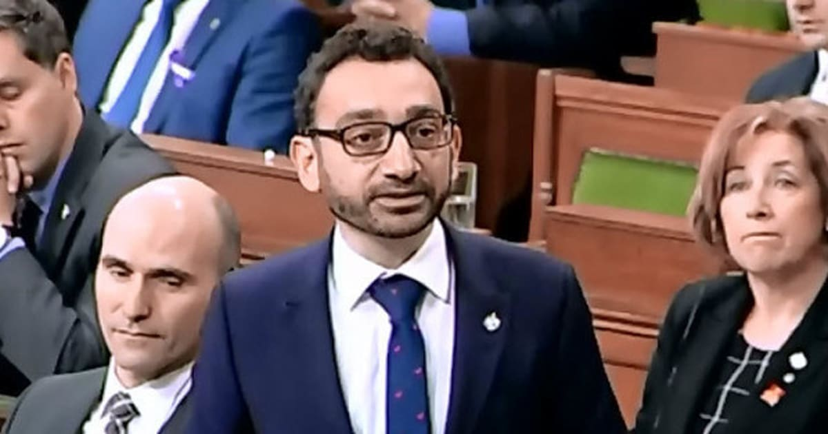 Liberal MP Omar Alghabra Opens Up About Anger In Wake Of ...