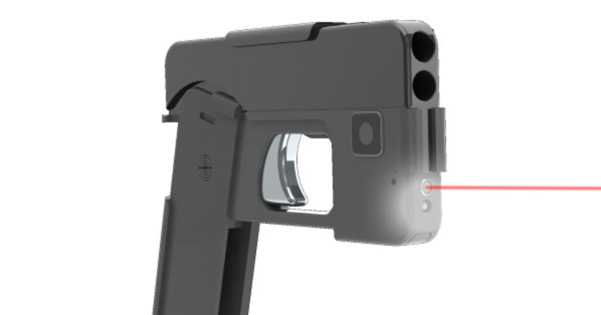 This 'Cell Phone Gun' Is Cheaper Than An Actual iPhone