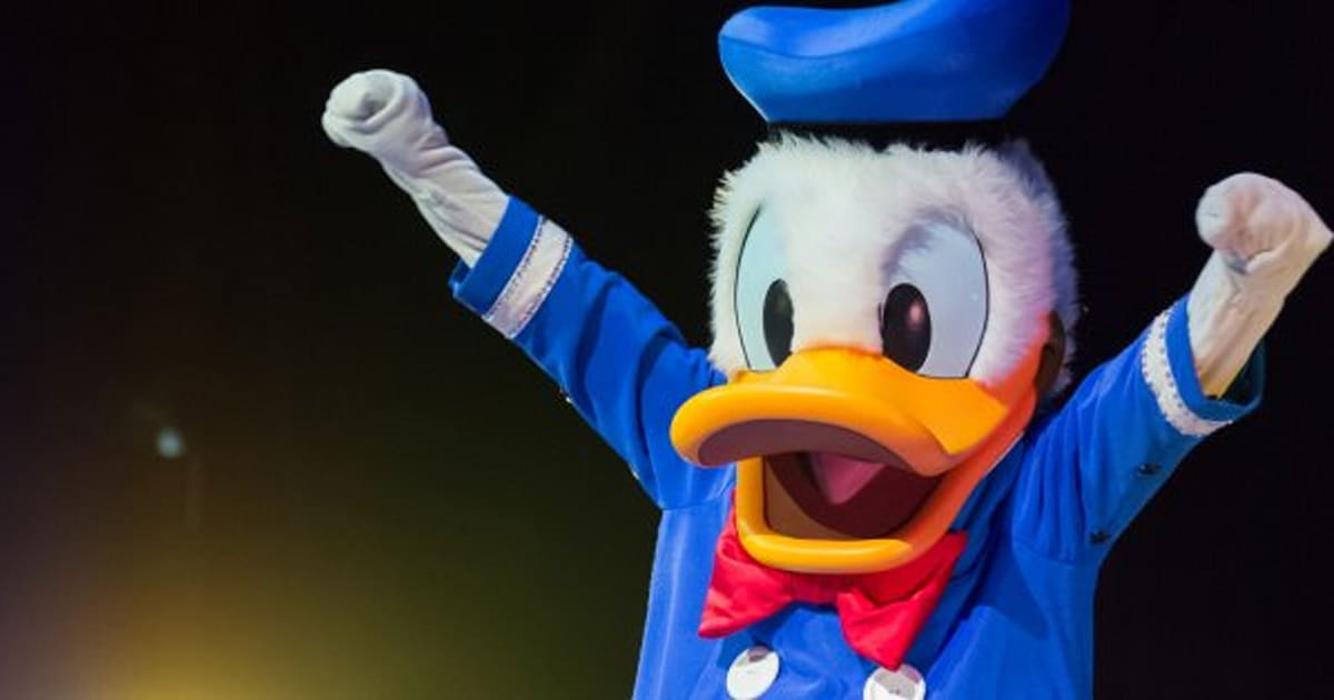 donald duck is a national hero in this country