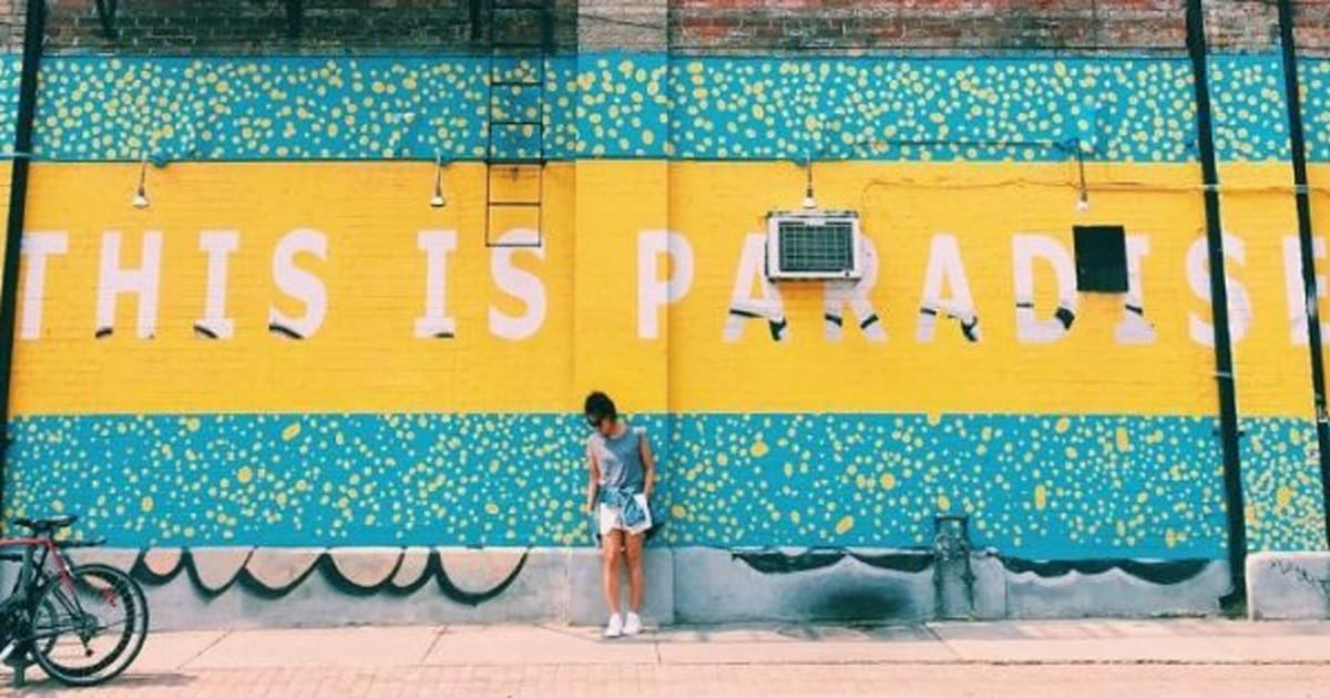 13 Walls In Toronto That Will Make Your Instagram Feed Look Super Hip