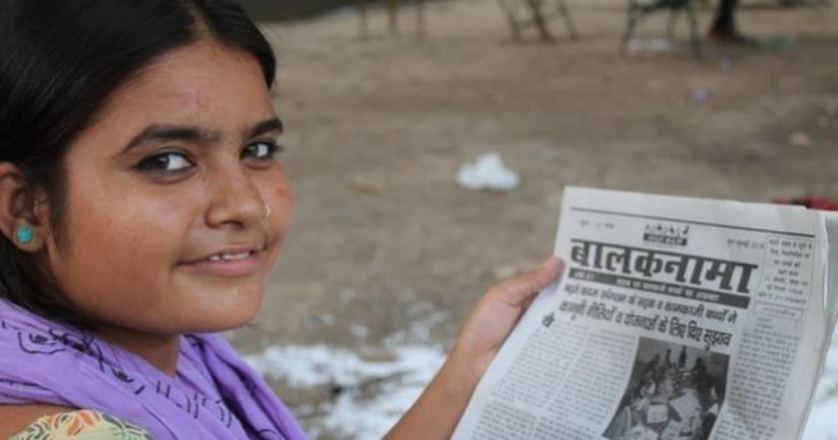 Na Índia, adolescentes que vivem na rua criaram o próprio jornal