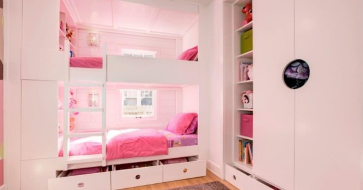 C mo colocar dos camas en una habitaci n sin perder for Literas originales para un cuarto juvenil