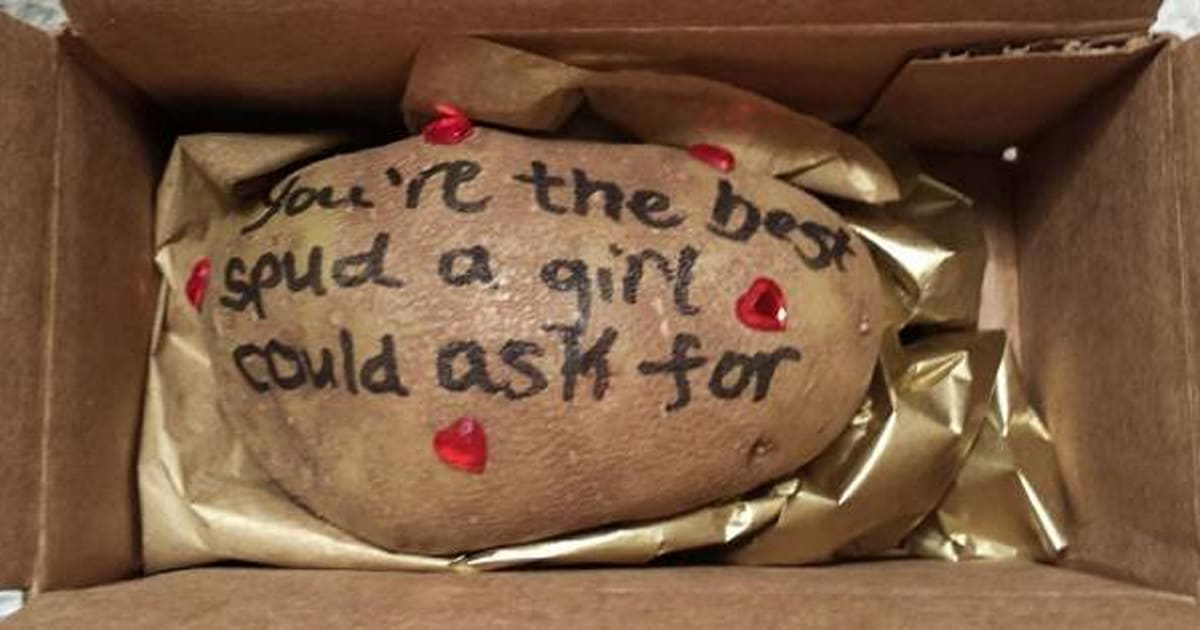 TaterGrams Canada Lets You Mail A Personalized Potato Anywhere In The Country