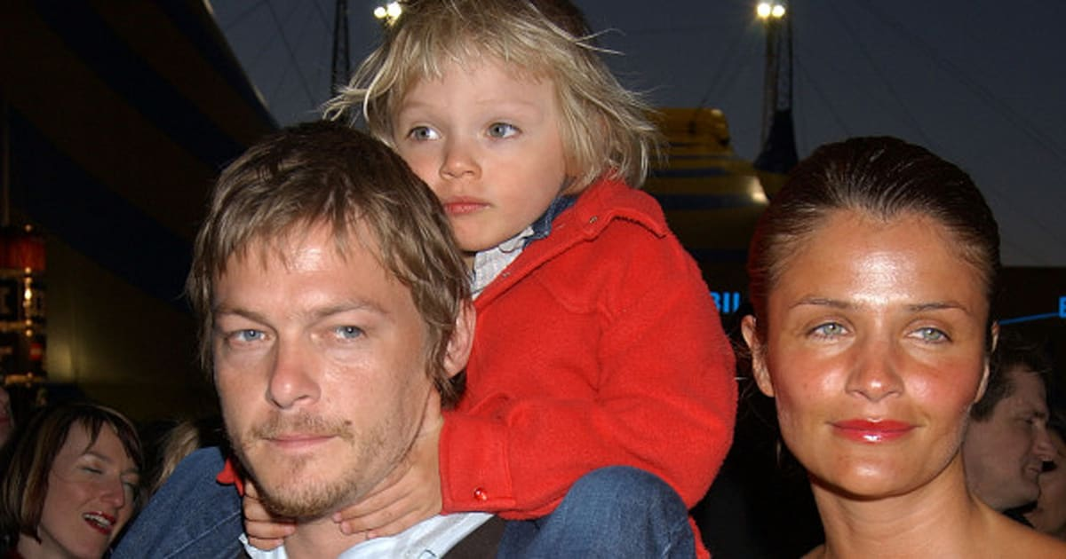 Norman Reedus Son Mingus Looks Just Like His Supermodel Mom