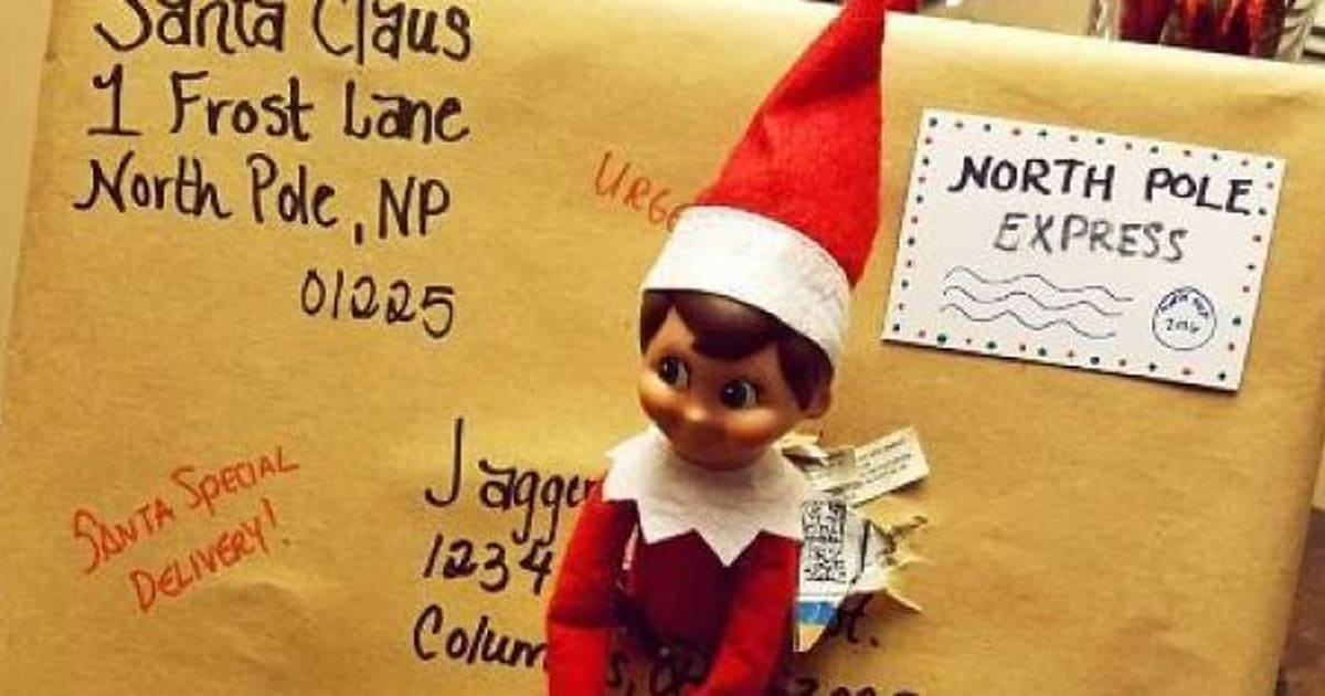 How Does Elf On The Shelf Arrive