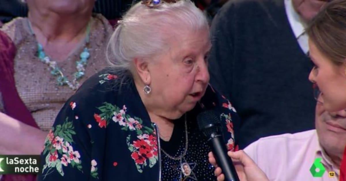 Paquita, la pensionista cuyo discurso social revolucionó 'LaSexta Noche'
