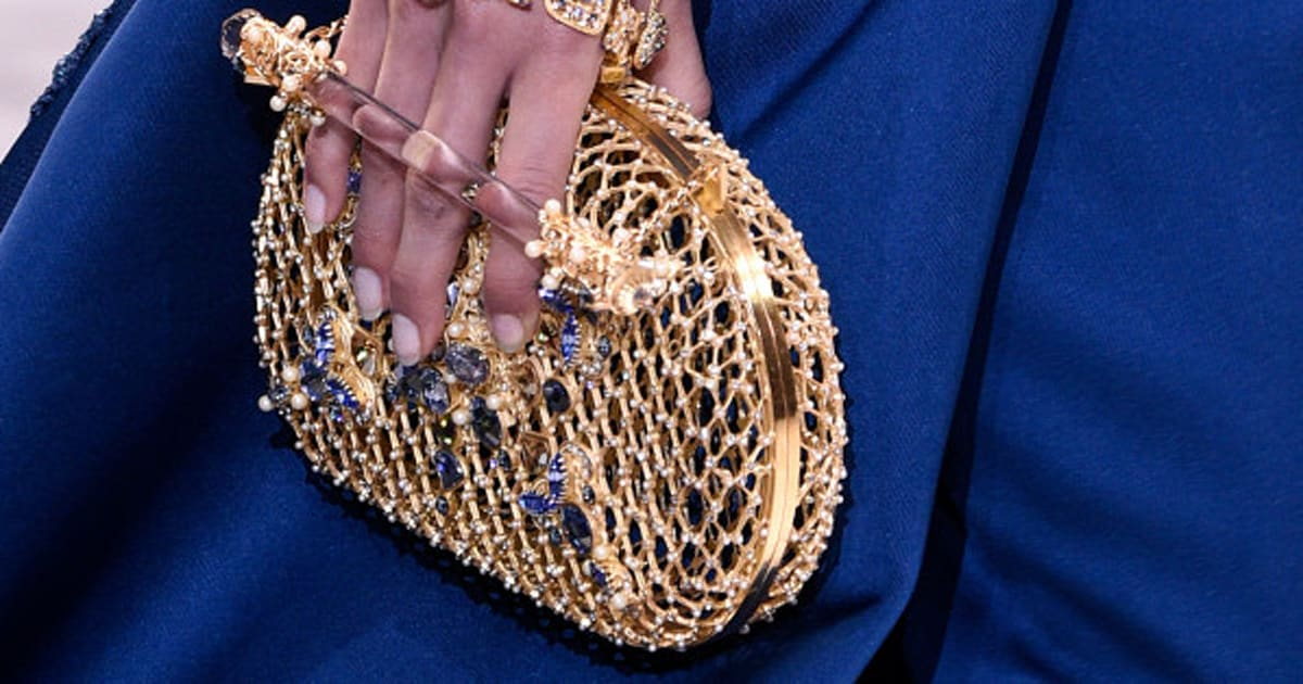Les Magnifiques Accessoires Du Dfil Haute Couture Printemps T