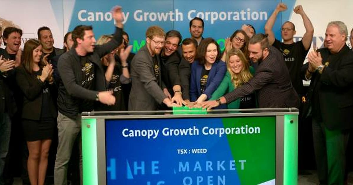 Weed Launches On The Toronto Stock Exchange