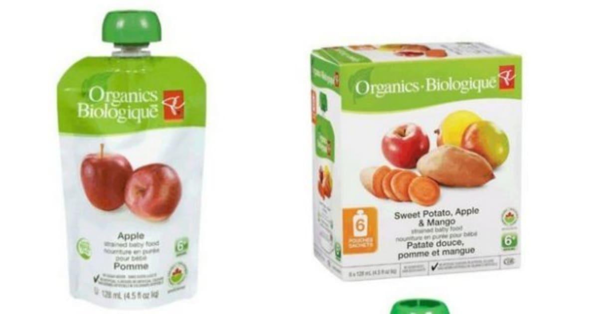 O Organics Baby Food Pouches
