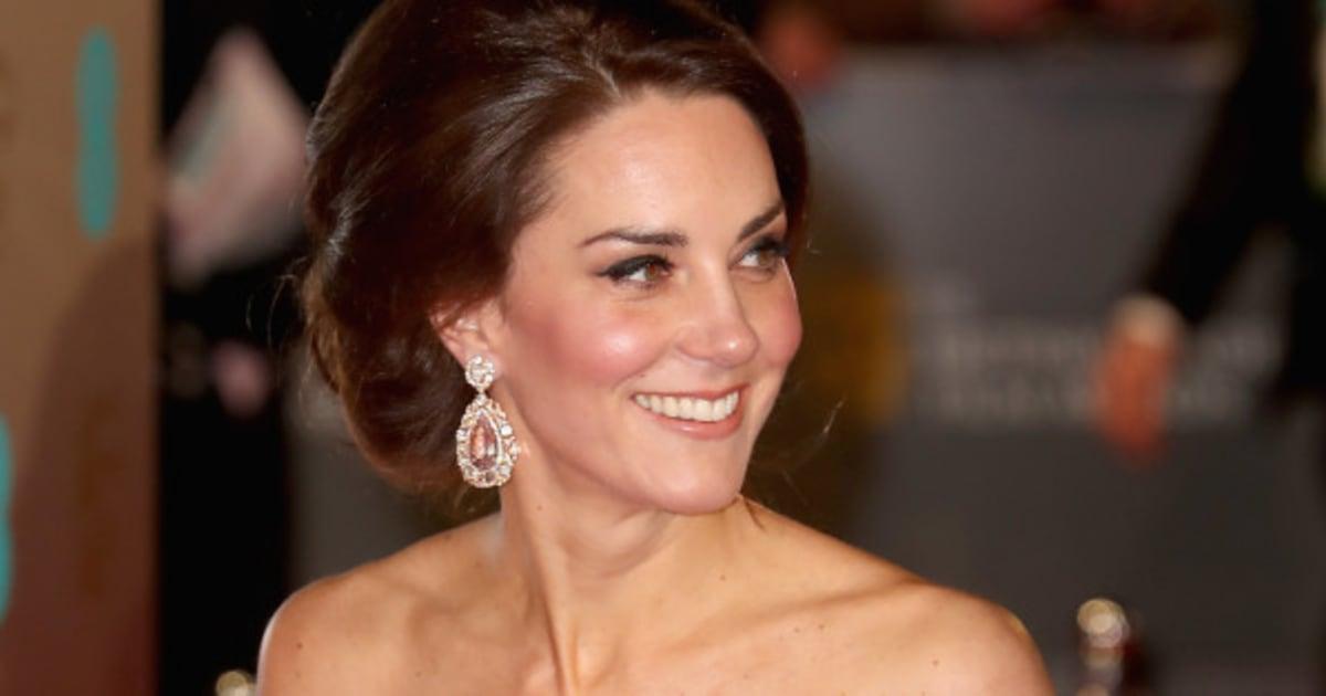 Baftas: The Duchess Of Cambridge Dazzles In Alexander McQueen At