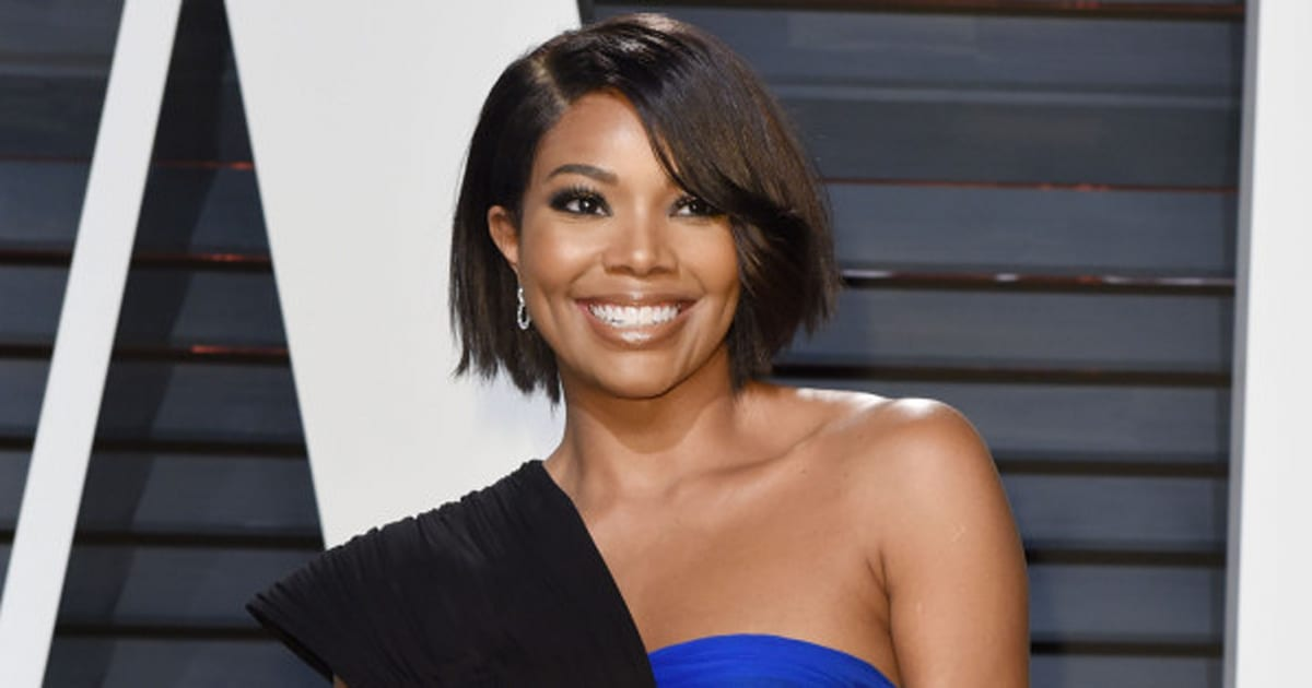 how gabrielle union learned to love her natural hair
