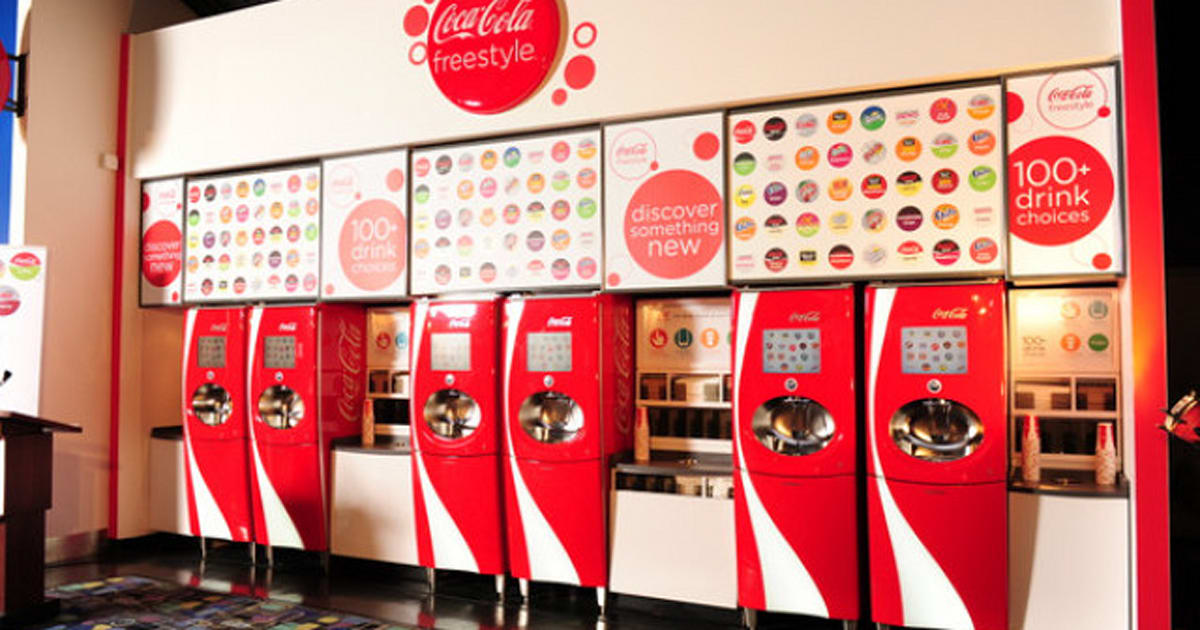 Coca Cola Freestyle Trying To Find The Tastiest Mixed